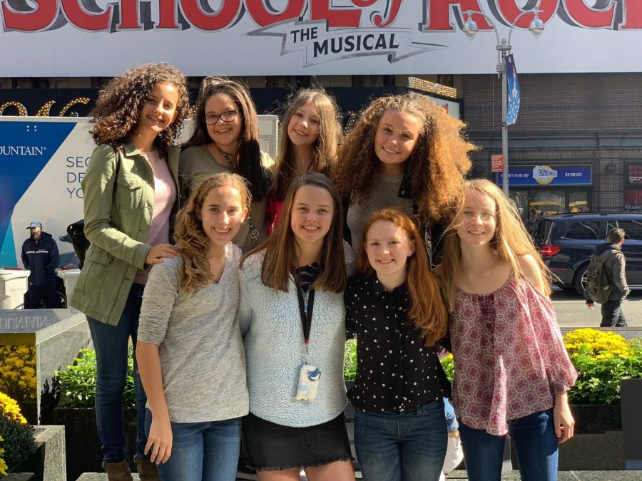 "Spalding Students Enjoy ""School of Rock"" Musical"