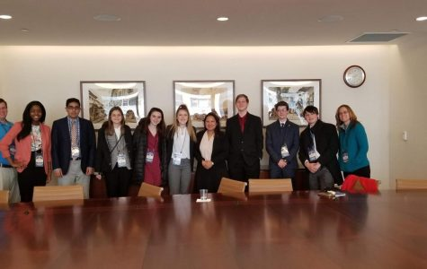 Spalding Students Attend the UN Conference in New York